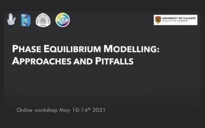 SHORT COURSE – Phase Equilibrium Modeling